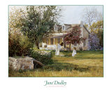 The Old Homestead Art by June Dudley