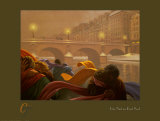 Une Nuit au Pont Neuf Posters by Claude Theberge