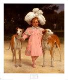 Alice Antoinette Kunstdruck von Jan Van Beers