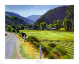 Harvest-Brush Creek Canyon Kunstdrucke von Marcia Burtt