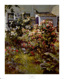 Backyard Garden Prints by Abbott Fuller Graves