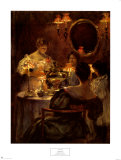 Russian Tea Prints by Irving R. Wiles