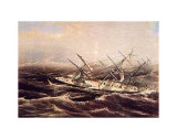 Clipper Ship Comet Prints by  Currier & Ives