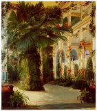 Interior of a Palm House Posters by Karl Blechen