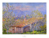 Antibes Affiches par Claude Monet