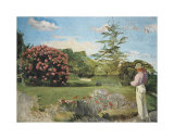 Little Gardener Prints by Frederic Bazille