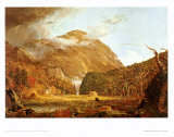 Col des White Mountains Posters par Thomas Cole