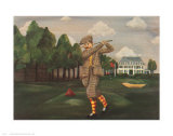 Teeing Off Prints by Emma Stubbs Hunk