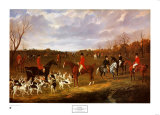 East Suffolk Hounds Prints by John Frederick Herring I