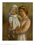 Claude and Renee Prints by Pierre-Auguste Renoir
