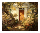 Grandmother's Doorway Prints by Abbott Fuller Graves