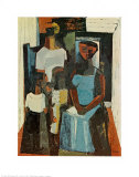 Charles Alston, Family No. 1, Art Print
