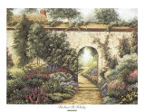 Garden Gate Poster by Barbara R. Felisky