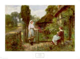 Off to Market Print by Henry John Yeend King