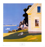 Island Farmhouse, 1969 Láminas por Fairfield Porter