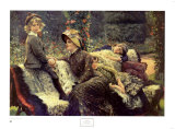 The Garden Bench Posters by James Tissot