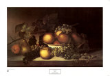 Fruit, 1820 Print by James Peale