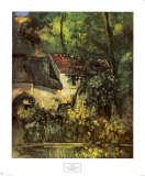 House of Pere Lacroix, 1873 Posters by Paul Cézanne