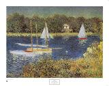 Bassin d'argenteuil, c.1874 Posters by Claude Monet