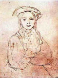 Girl in Beret Prints by Jean-Baptiste-Camille Corot