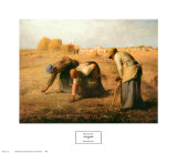 The Gleaners, 1857 Poster by Jean-Fran&#231;ois Millet