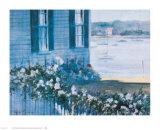 Harbor Roses, 1981 Print by Ray Ellis