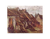 Farmhouses Prints by Vincent van Gogh