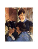 Waitress Serving Art by Édouard Manet