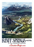 Canadian Pacific, Banff Print