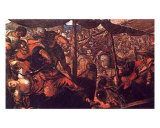 Battle Prints by Jacopo Robusti Tintoretto