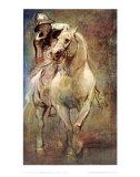 Soldat zu Pferd Kunstdrucke von Sir Anthony Van Dyck