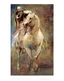Soldier on Horseback Prints by Sir Anthony Van Dyck
