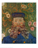 Portrait of the Postman Joseph Roulin, c.1889 Print by Vincent van Gogh