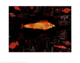 Goldfish Prints by Paul Klee