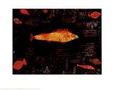 Peixe-dourado Posters por Paul Klee