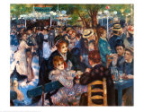 Dancing at the Moulin de la Galette Prints by Pierre-Auguste Renoir