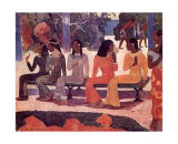 Ta Matete Prints by Paul Gauguin