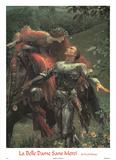 La Belle Dame Sans Merci (detail) Reprodukcje autor Frank Bernard Dicksee