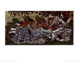 Mädchen am Ufer der Seine Kunstdrucke von Pablo Picasso