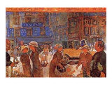 Place Clichy Art by Pierre Bonnard