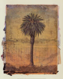Palm Study No.2 Prints by Donald Farnsworth