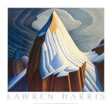 Mount Lefroy Posters by Lawren S. Harris