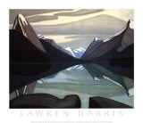 Maligne Lake, Jasper Park Poster by Lawren S. Harris