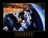 Courage: Hang Glider Posters af H. Armstrong Roberts