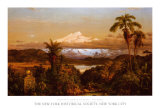 Cayambe Affiches par Frederic Edwin Church