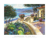 Promenade to the Sea Poster by Howard Behrens