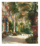 The Palm House Prints by Carl Blechen