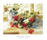 Spring Cutting Prints by Marilyn Yanke