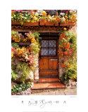 Cottage fleuri Poster par Dennis Barloga