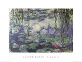 Nympheas Kunstdrucke von Claude Monet